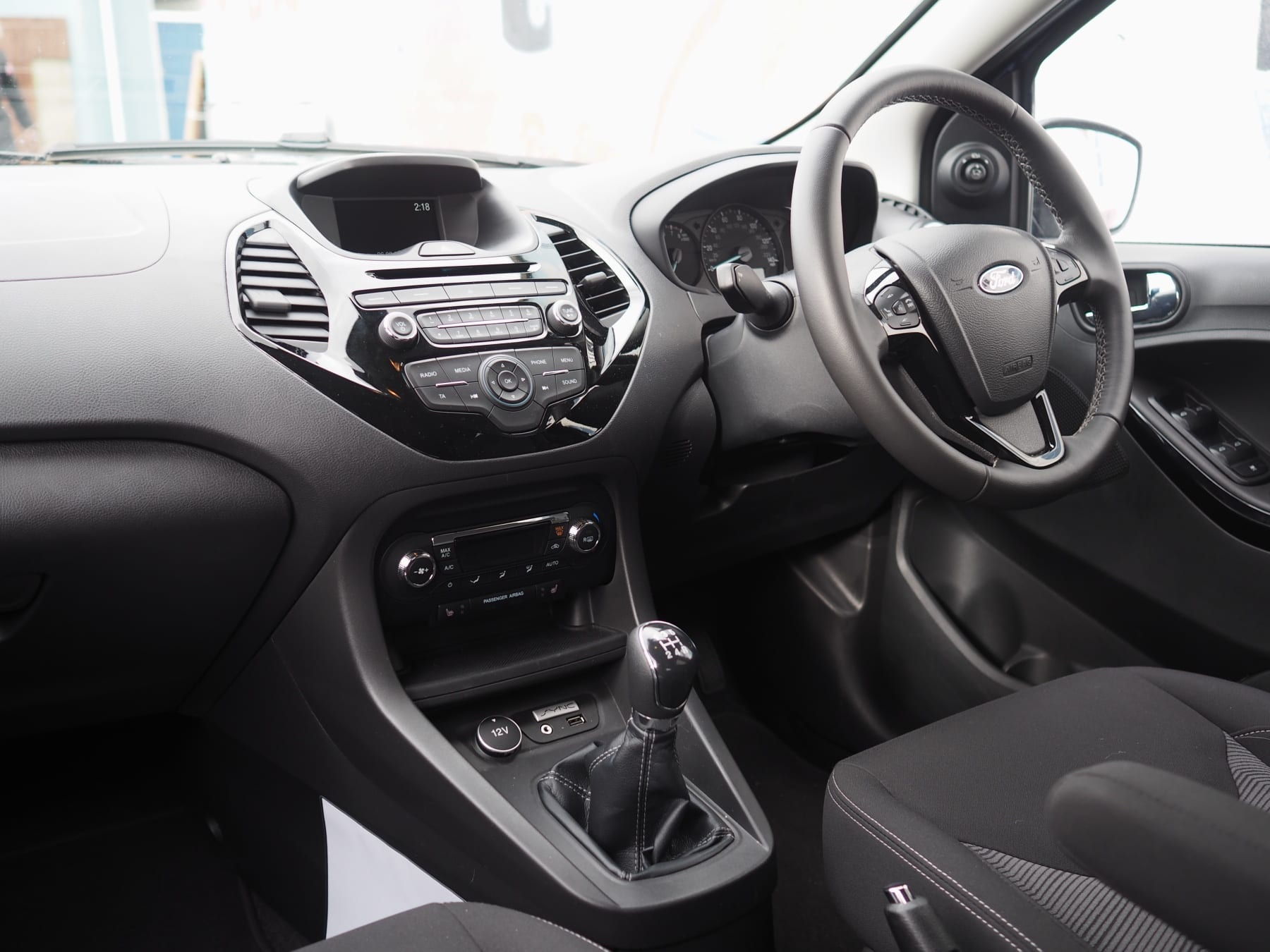 Interior of Ford Ka+