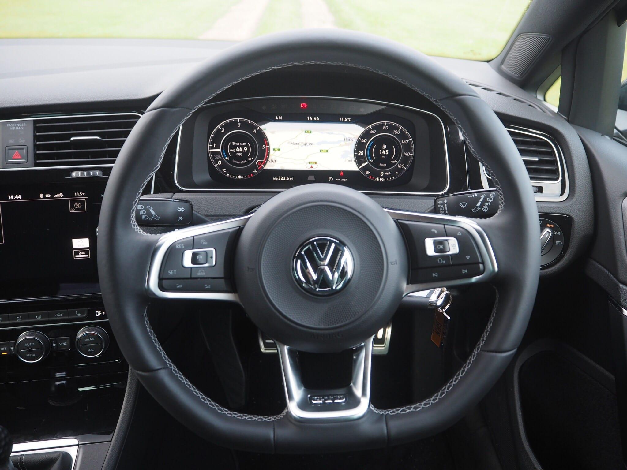 Volkswagen Golf GTD Driver View