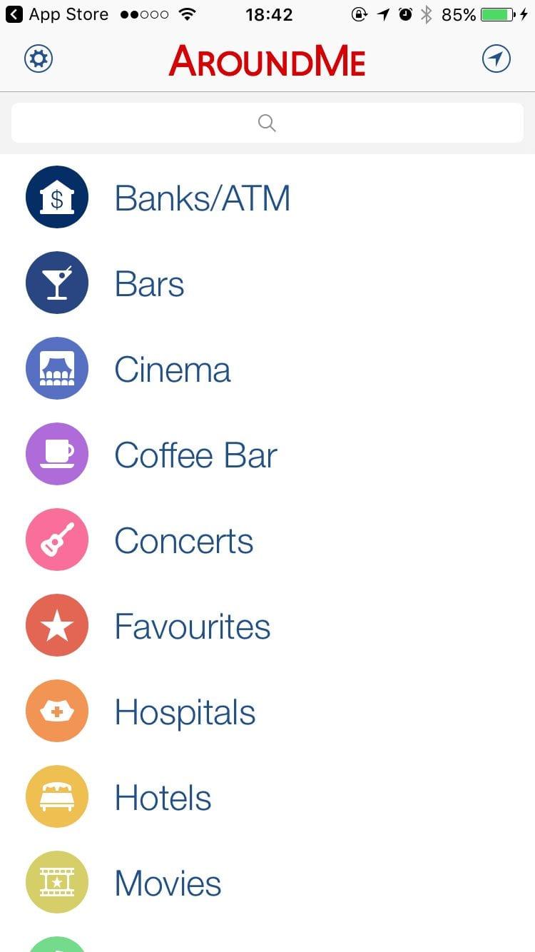 AroundMe App