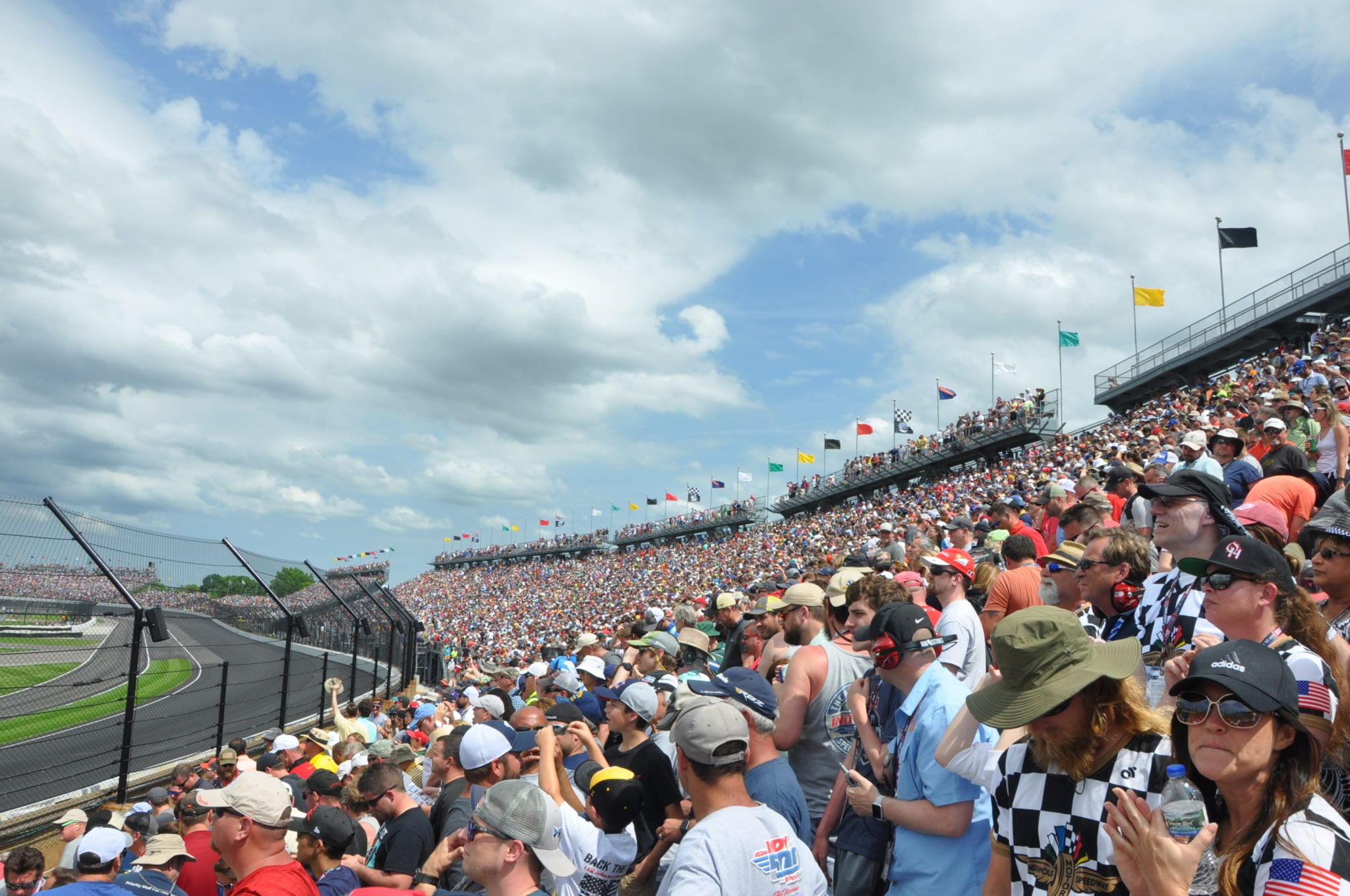 Indianapolis 500 View from Turn 1