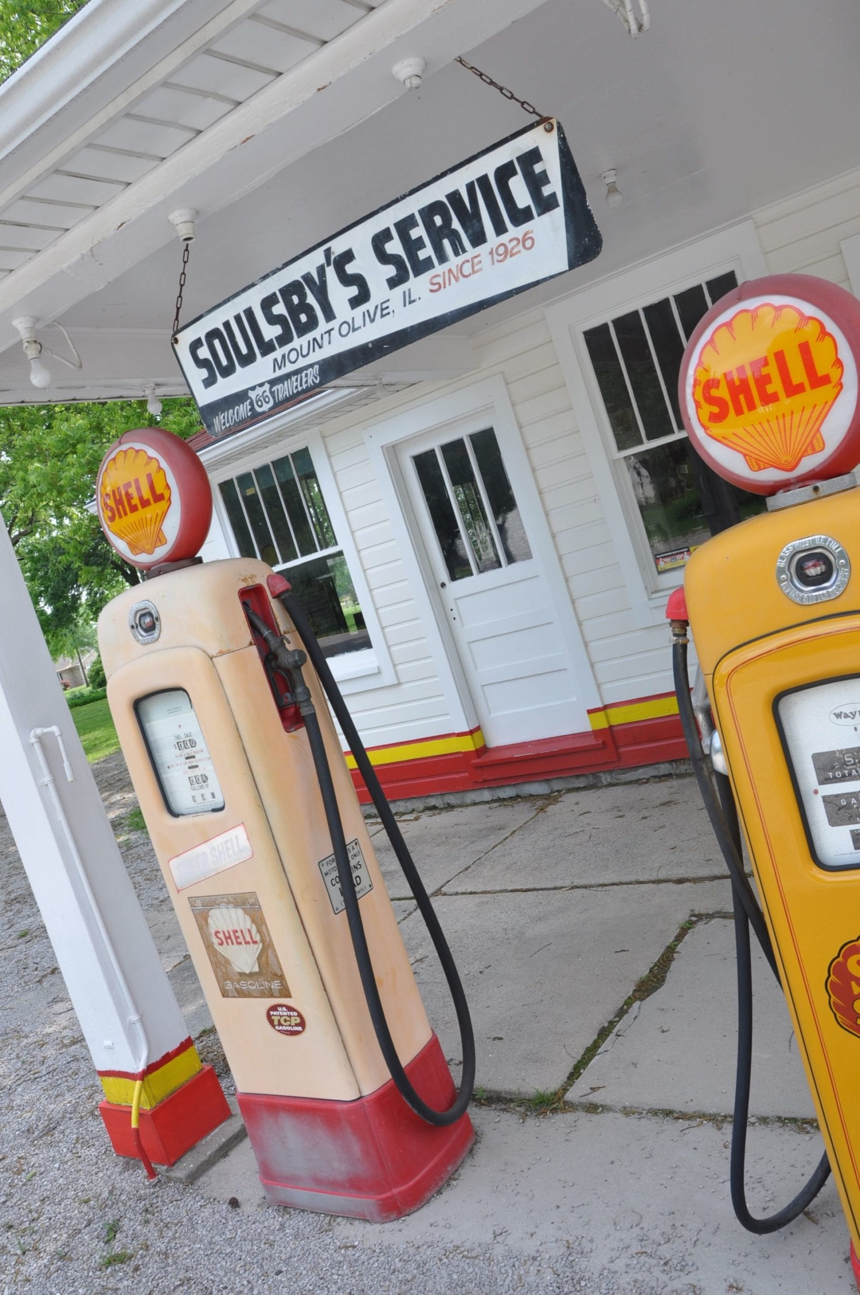 Old Petrol Pumps Route 66