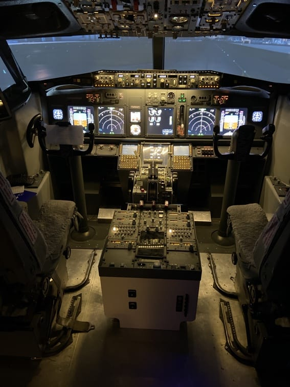 Flight Simulator Experience Cockpit
