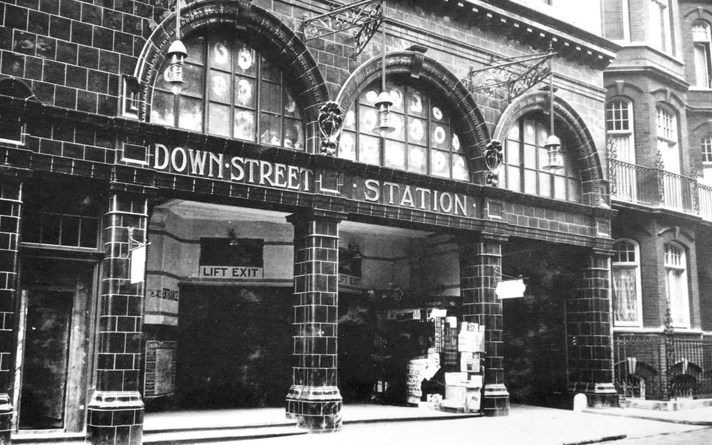 Down street tube station