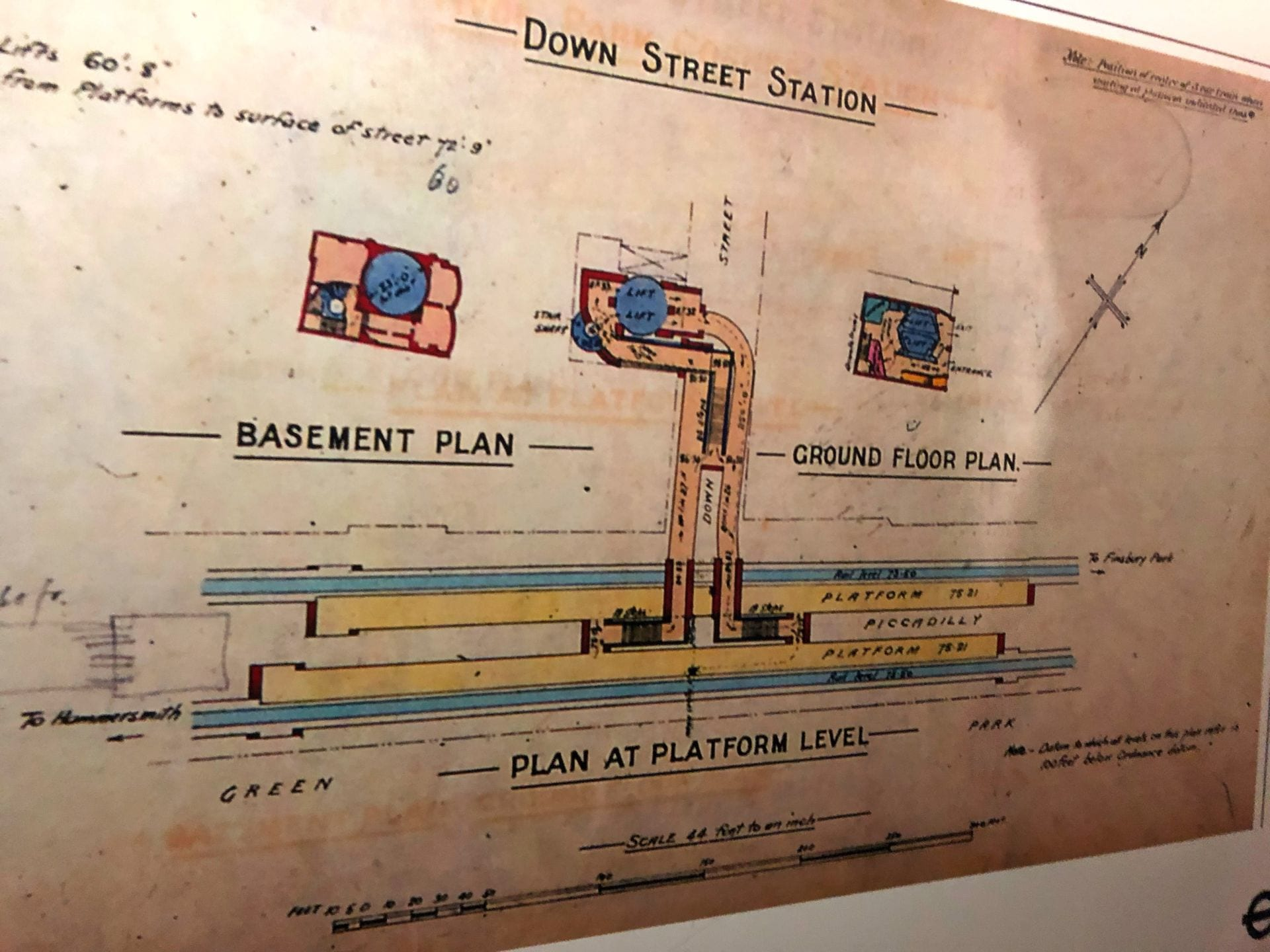 Old London Tube Station