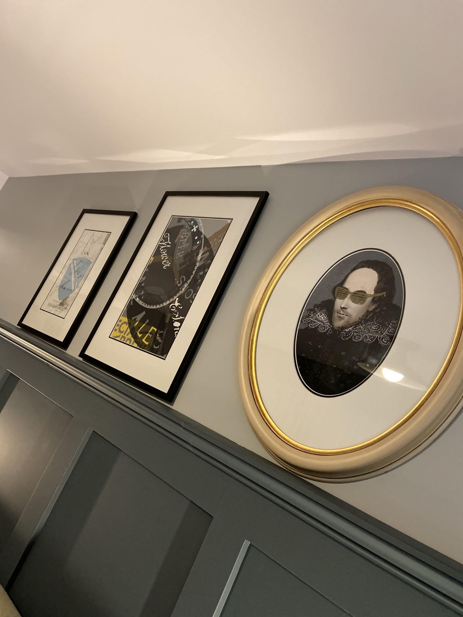 Picture Frames with Shakespeare