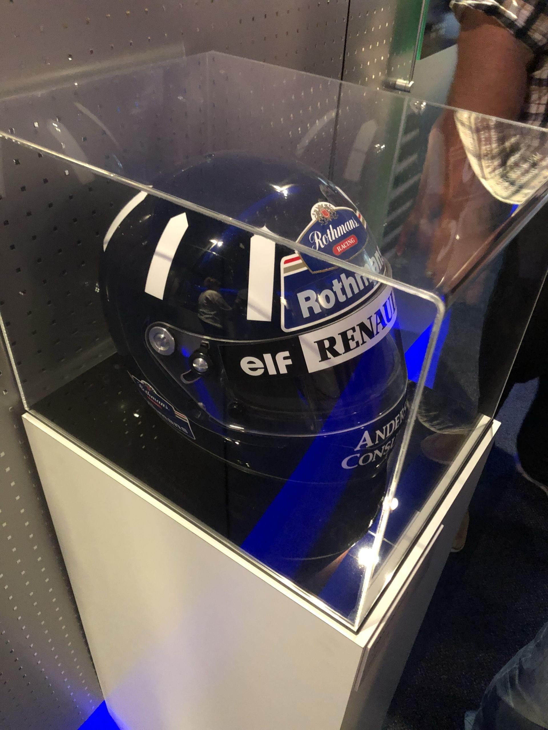Damon Hill Helmet