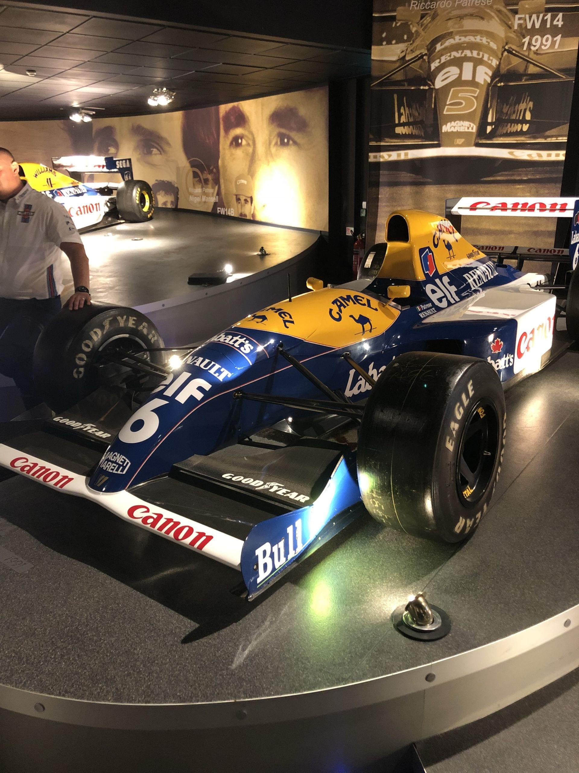 Nigel Mansell F1 Car