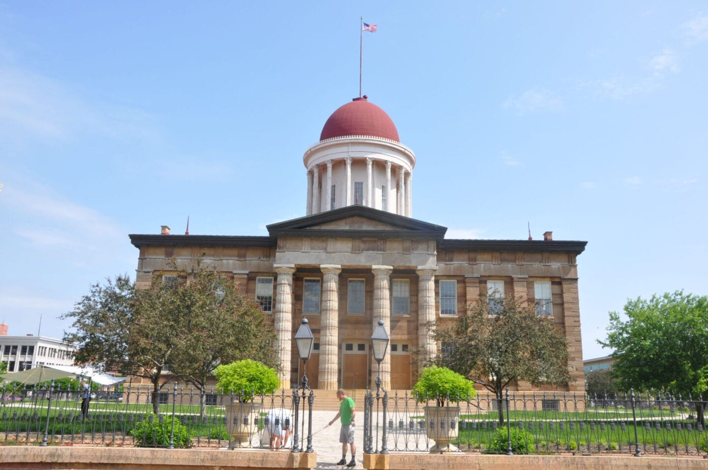 Old Capitol Building Springfield Illinois