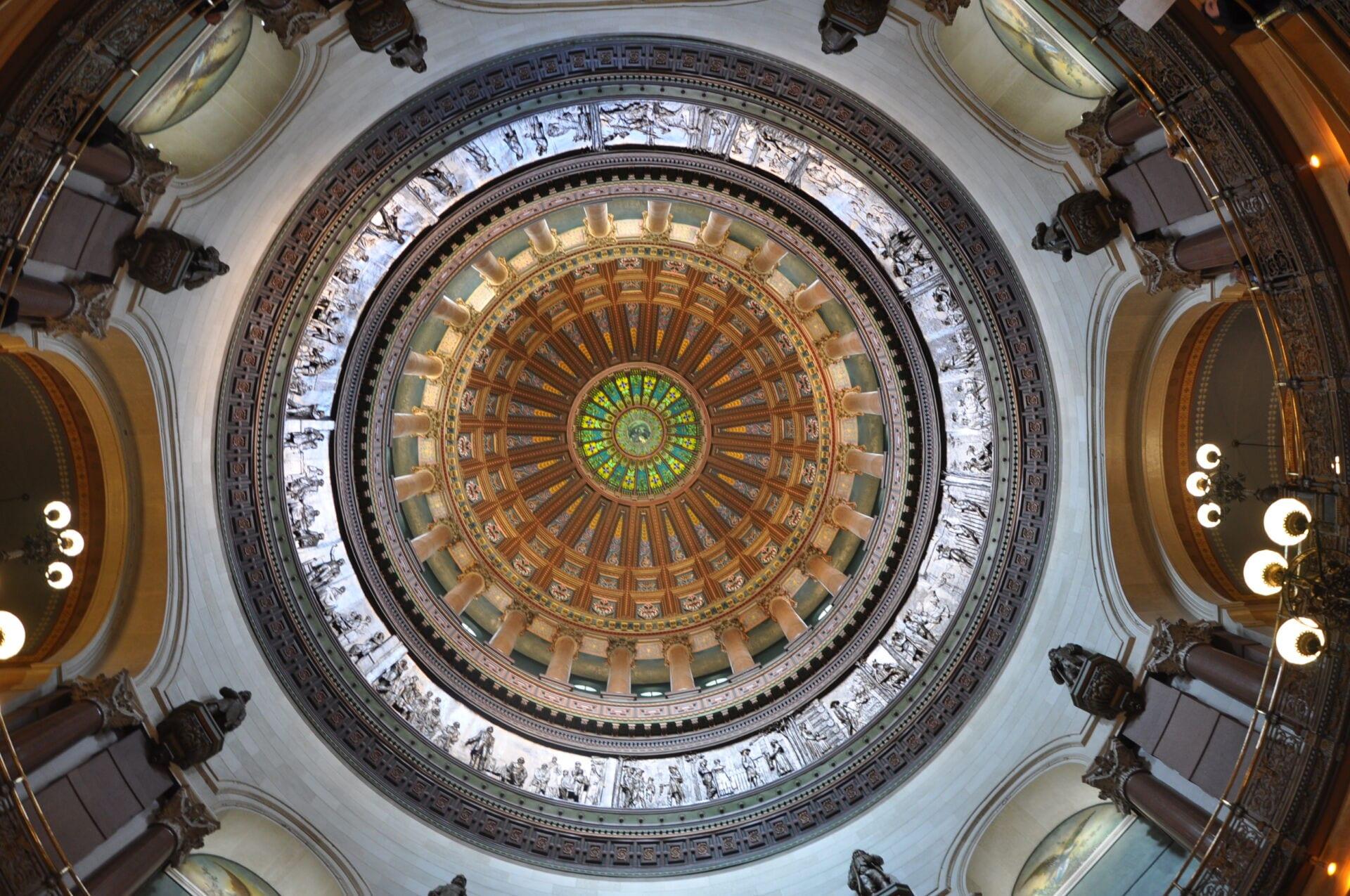 Illinois State Capitol Building Route 66 Illinois