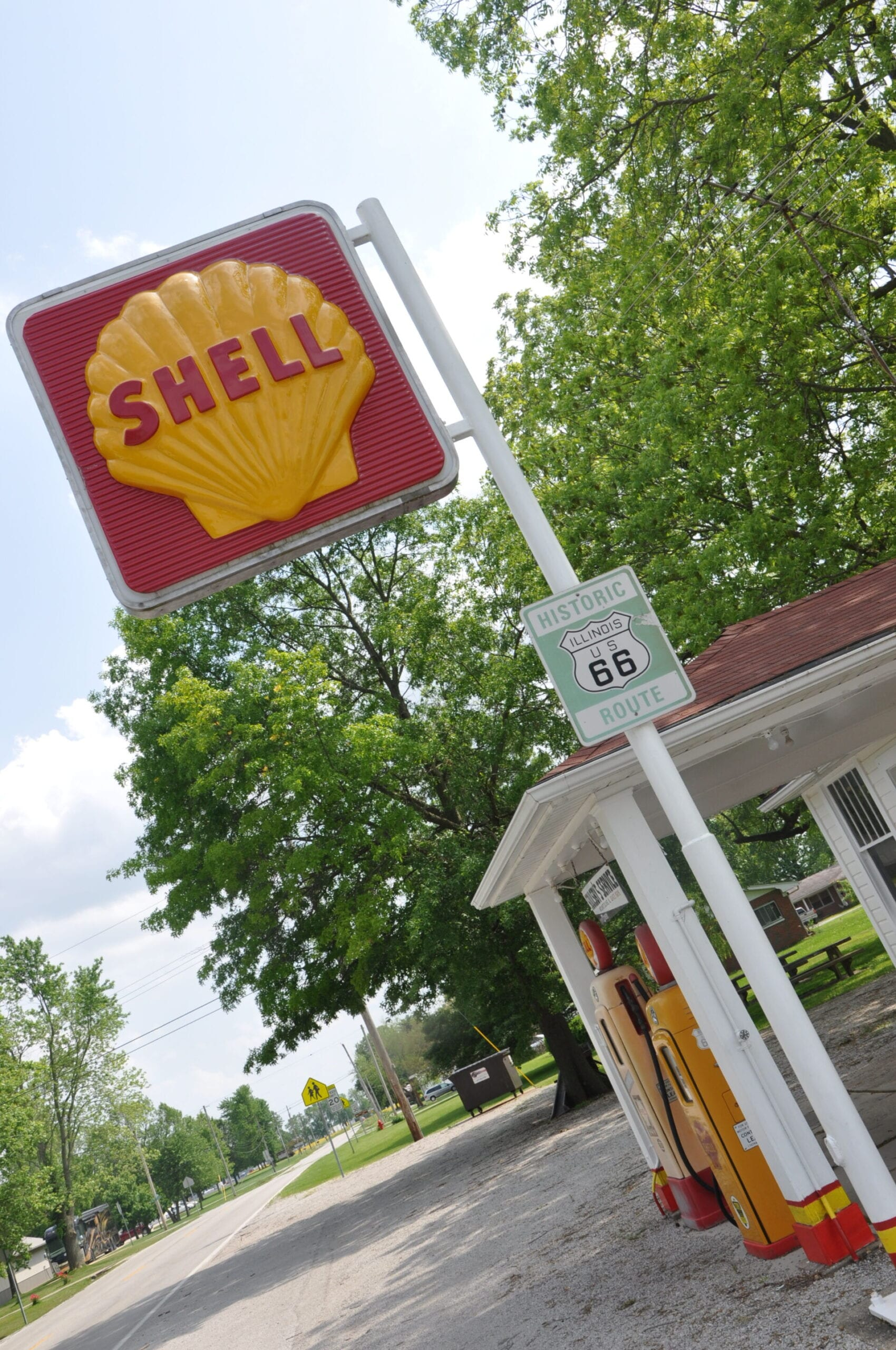Soulsby's Route 66 Shell Service Station