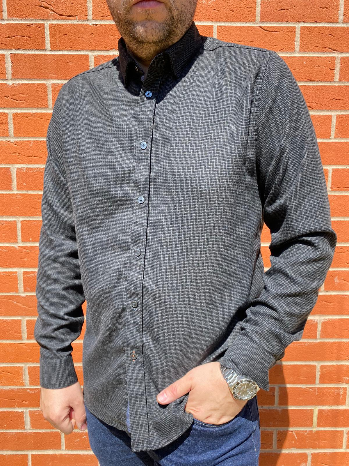 Ted Baker Dark Shirt