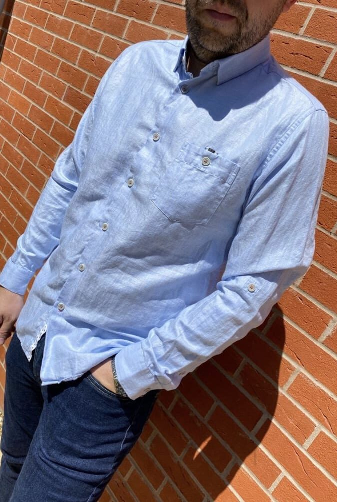 Ted Baker Blue Shirt