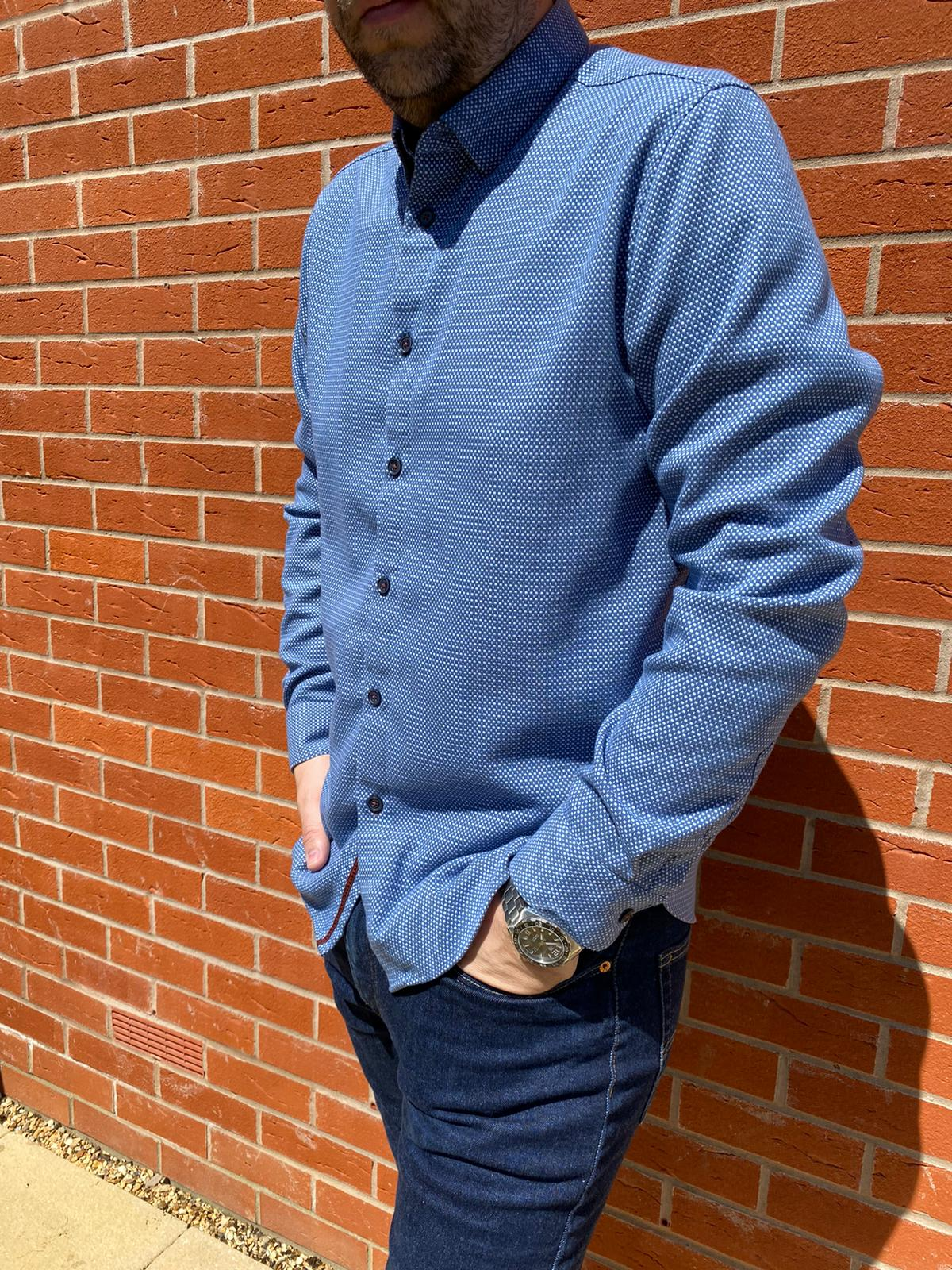 Ted Baker Blue Shirt