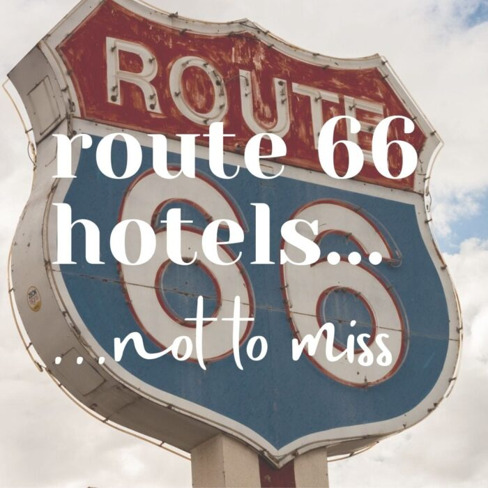 Route 66 hotels logo