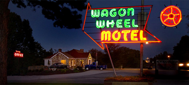 Route 66 Wagon Wheel Motel