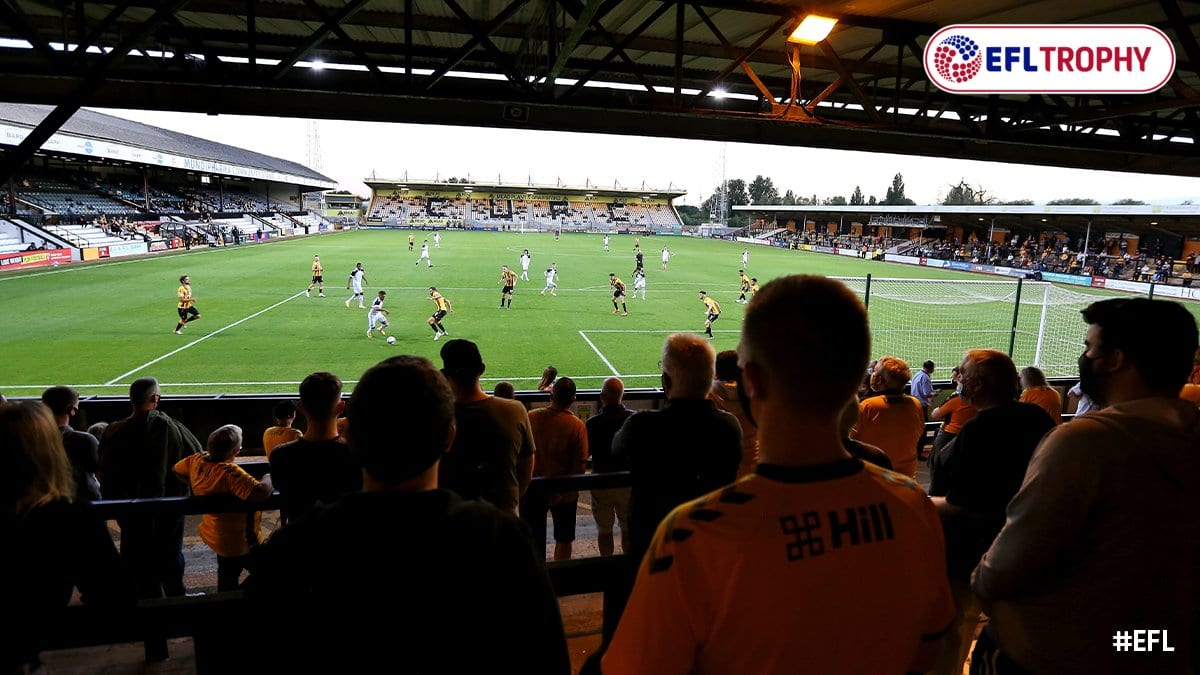 Cambridge United Football Match