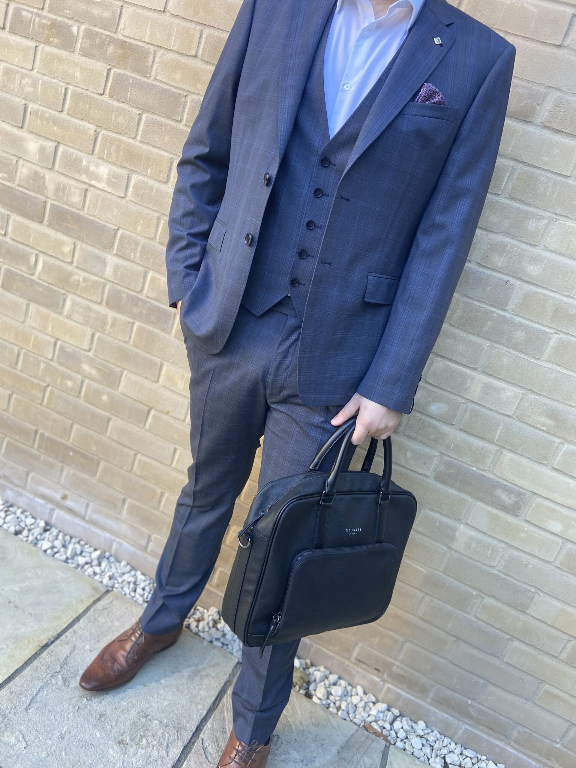 Ted Baker Blue Suit