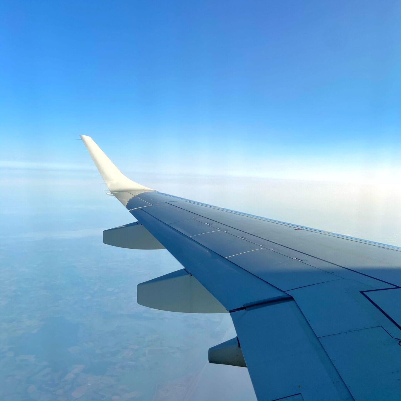 Window shot from Plane