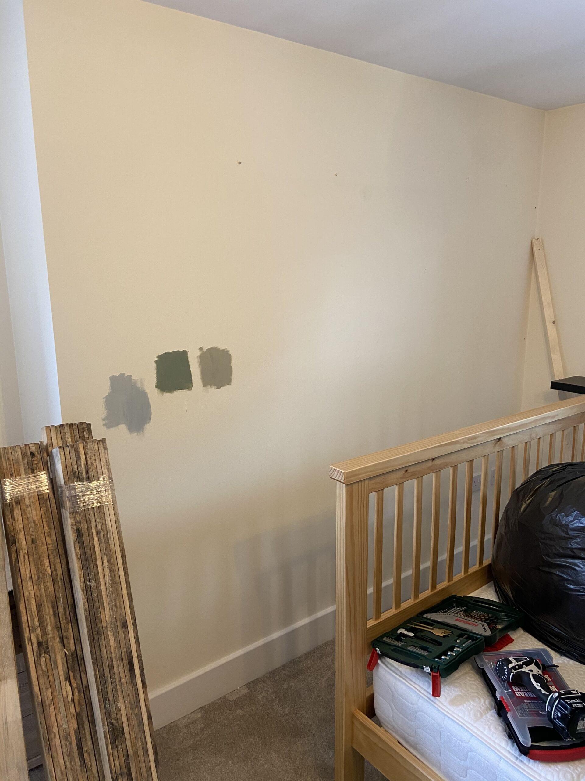 Pre Make Over Wall