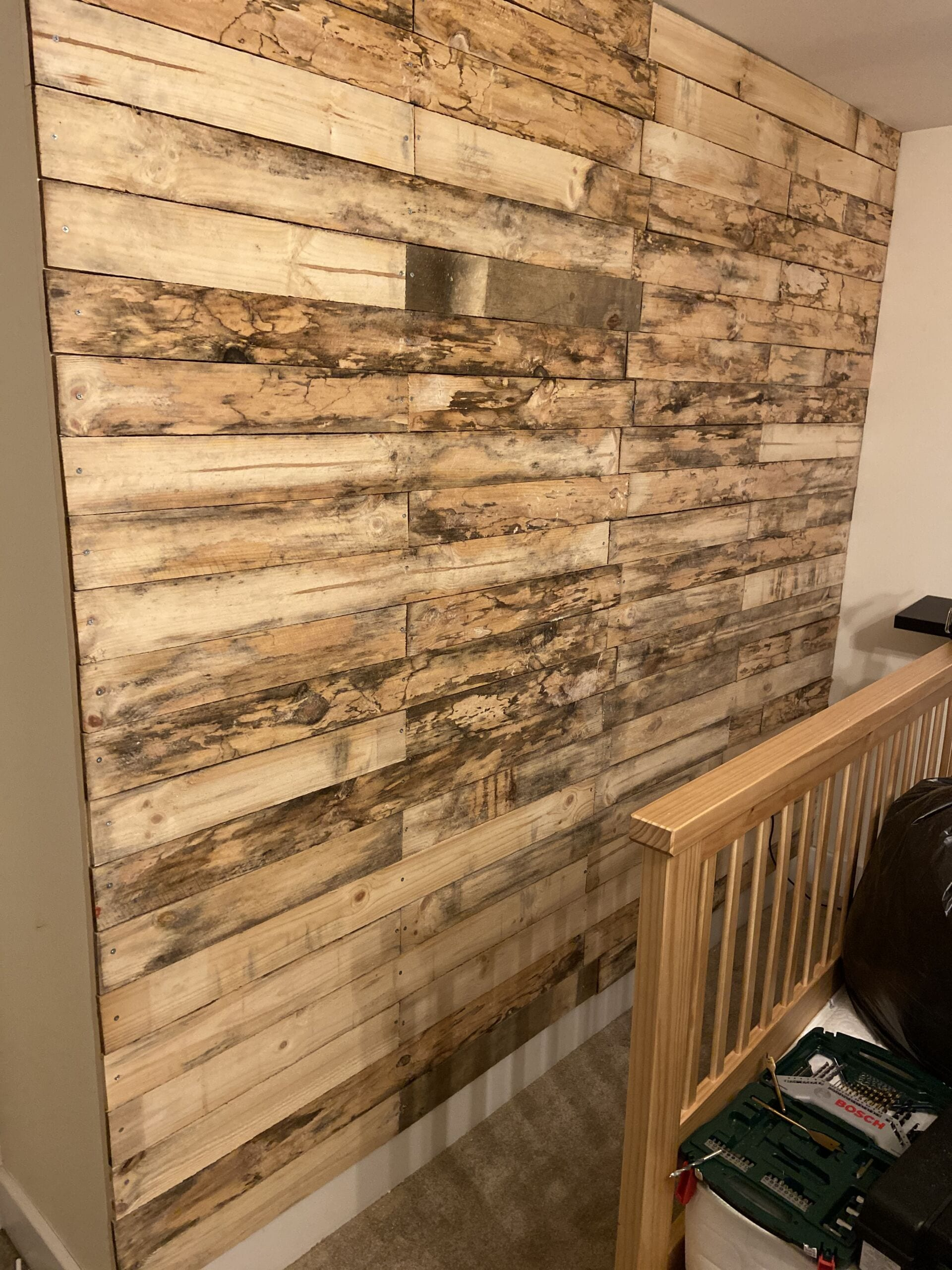 Finished Make Over Wall
