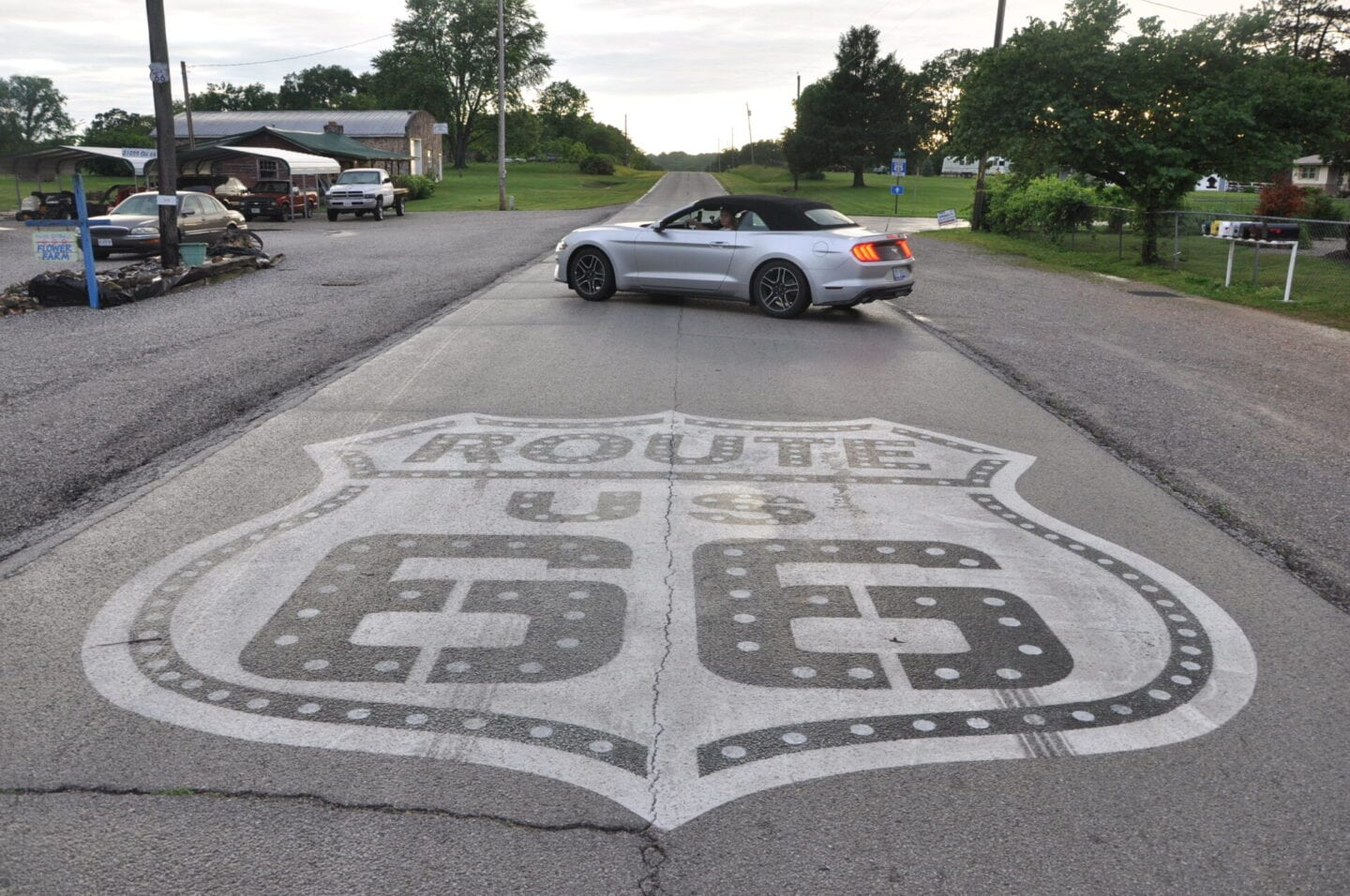 Route 66 and Car