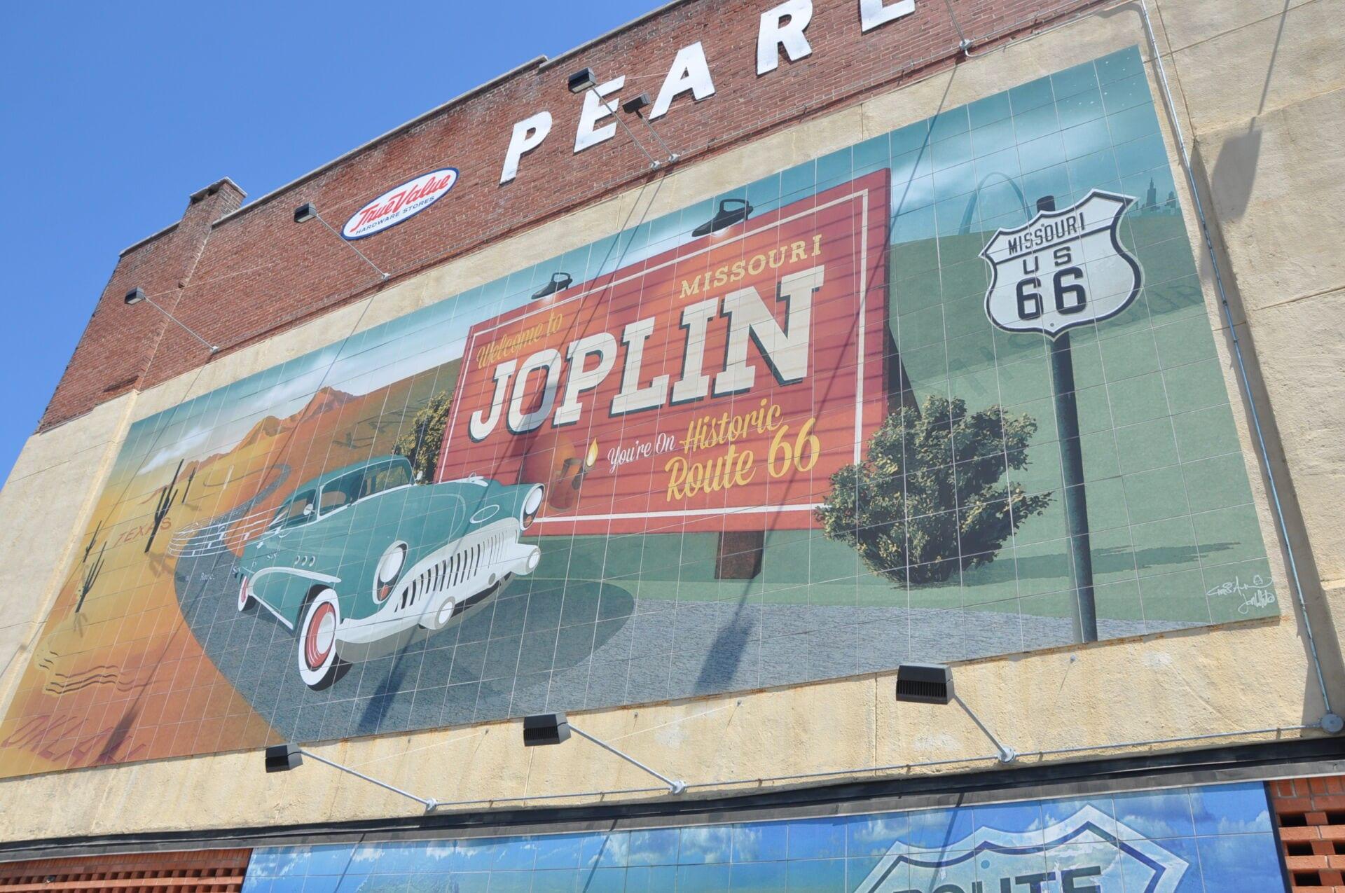 Joplin Route 66 Mural