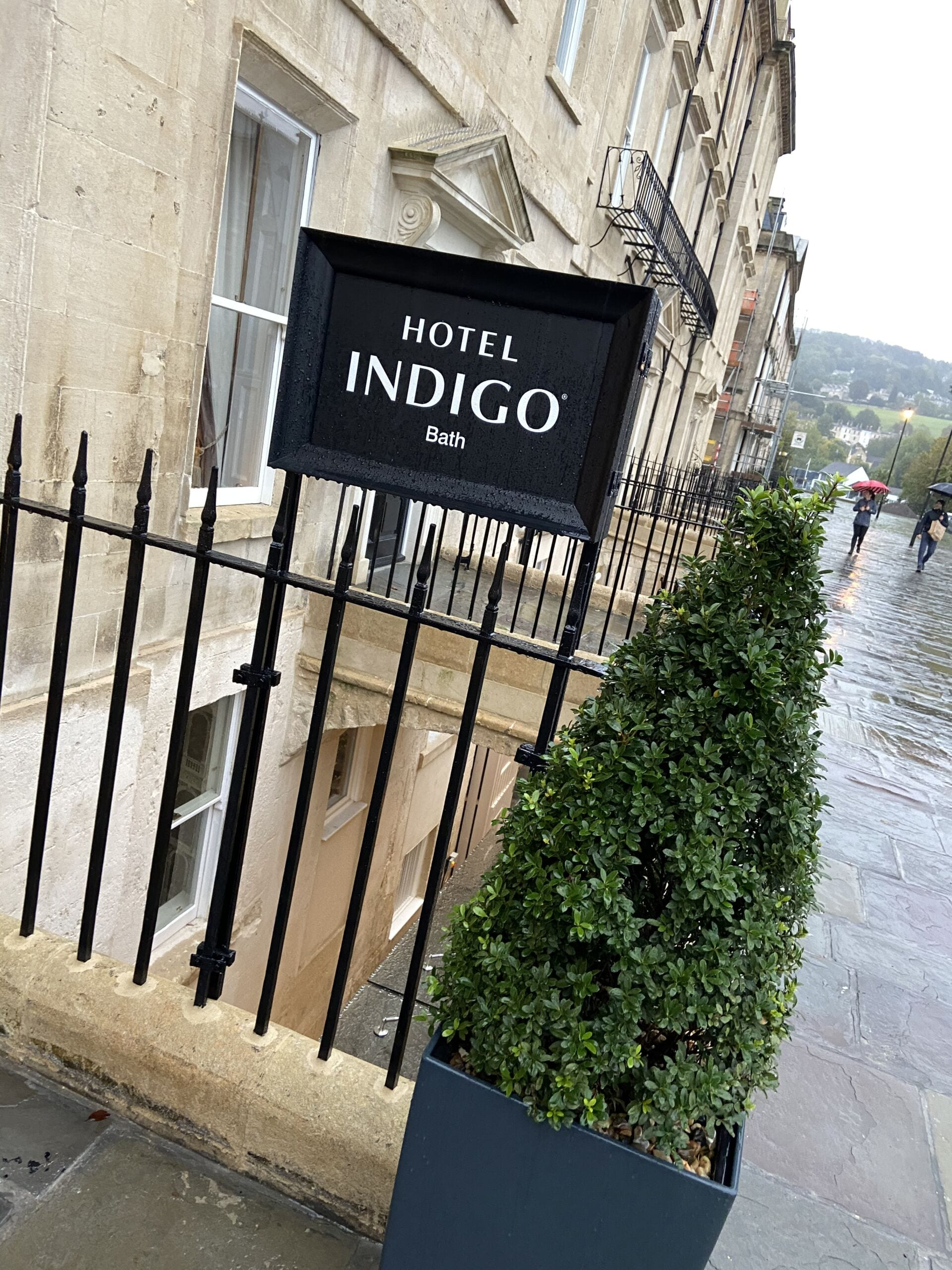 Hotel Indigo Bath Front Door
