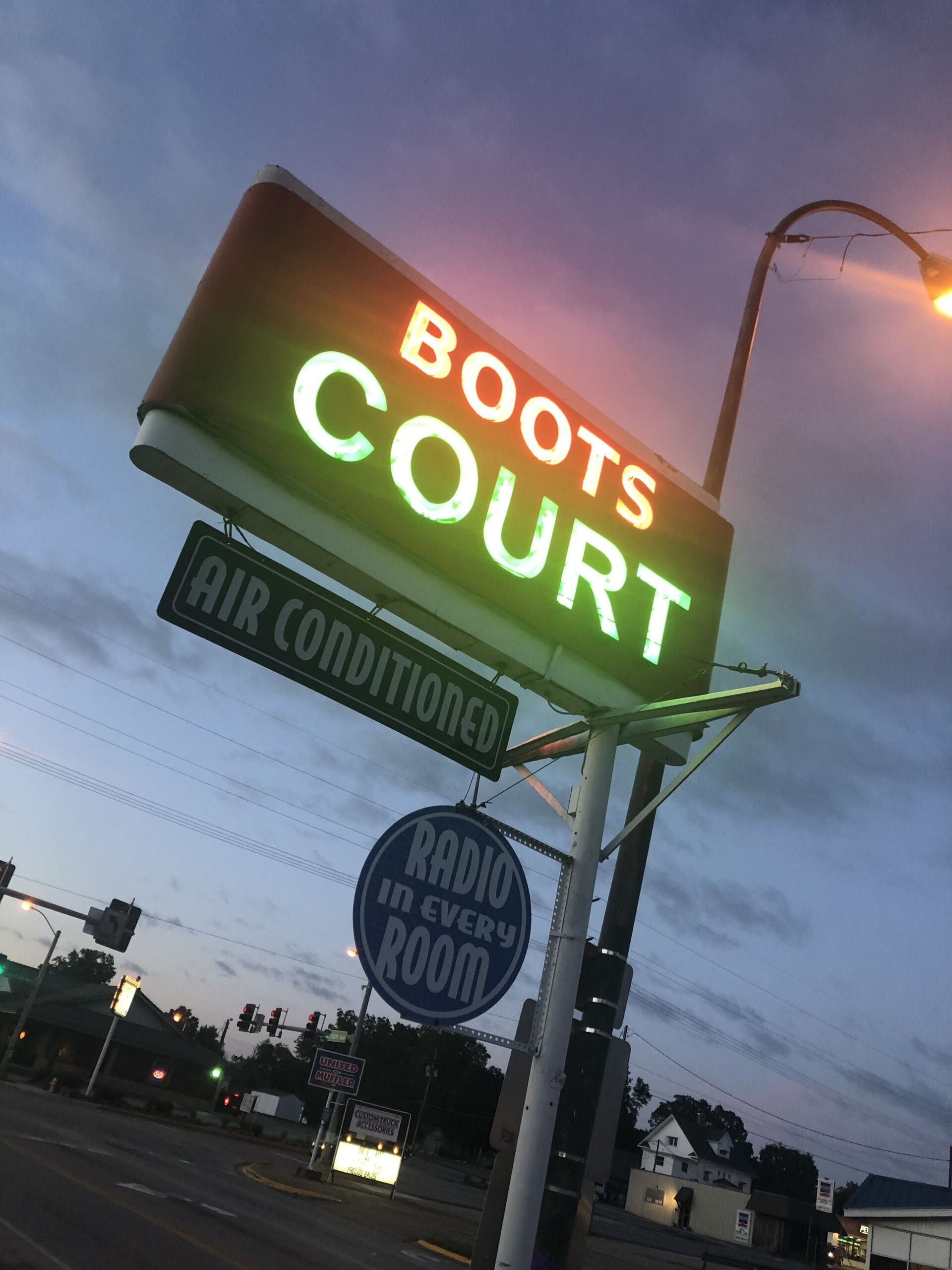 Boots Court Route 66