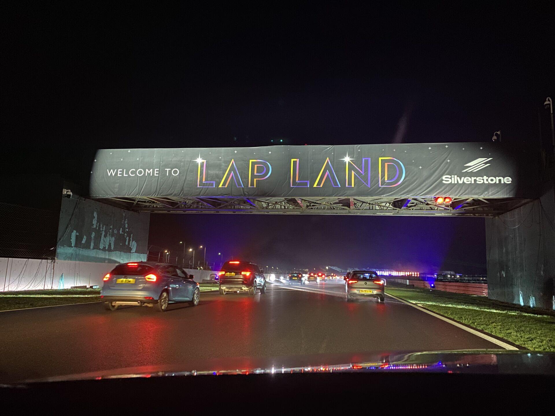 Lapland Silverstone Sign