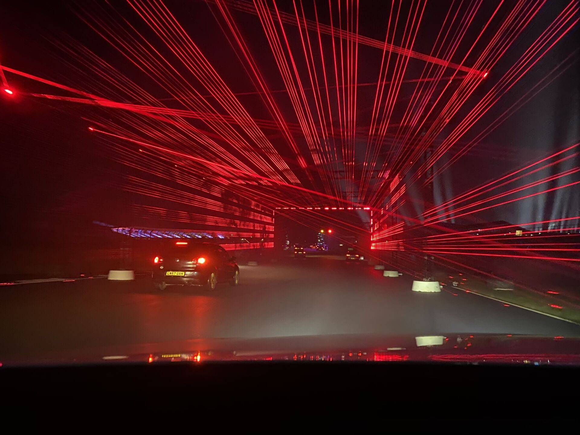 Lasers at Silverstone