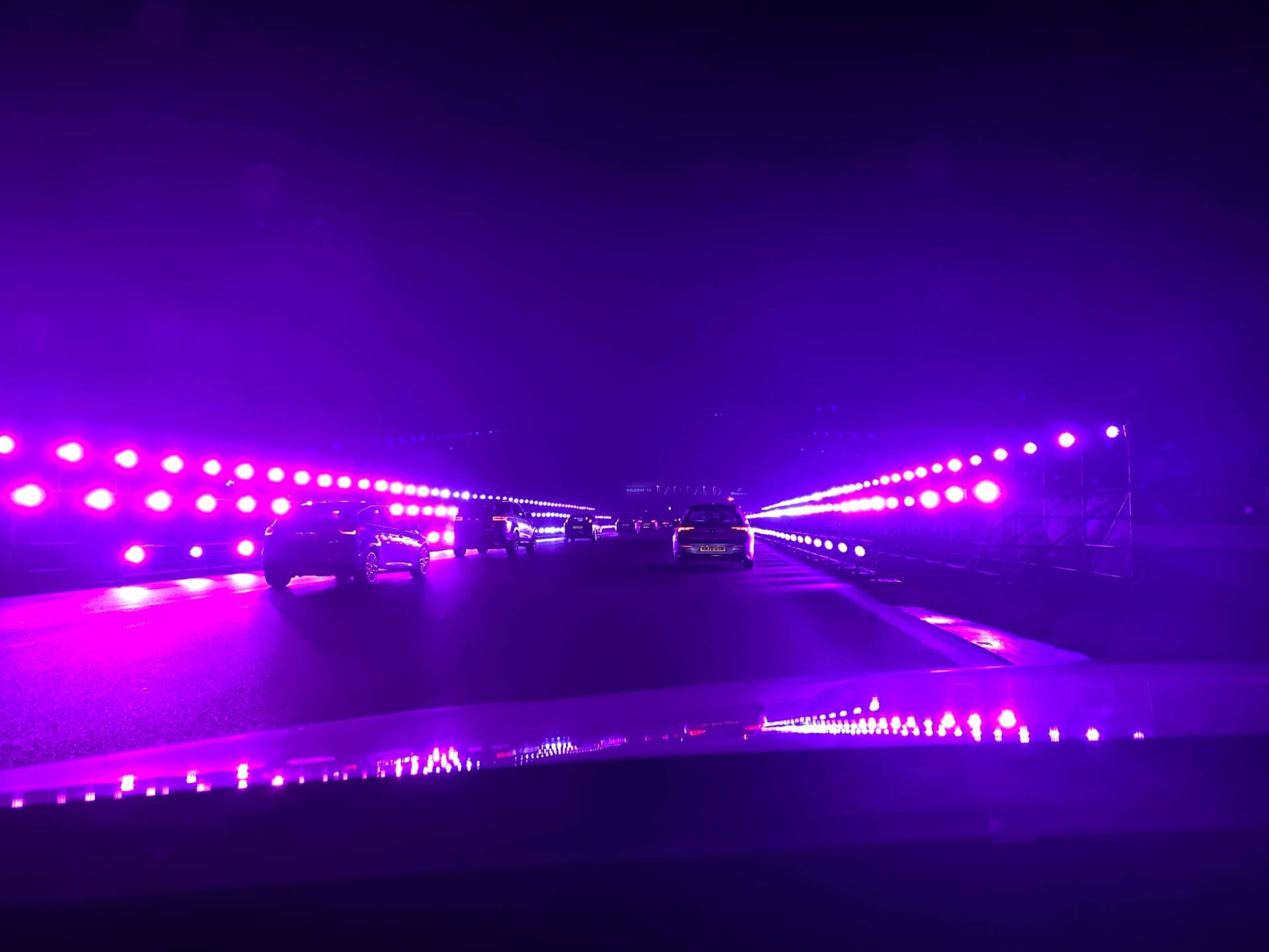 Lights at Lapland Silverstone