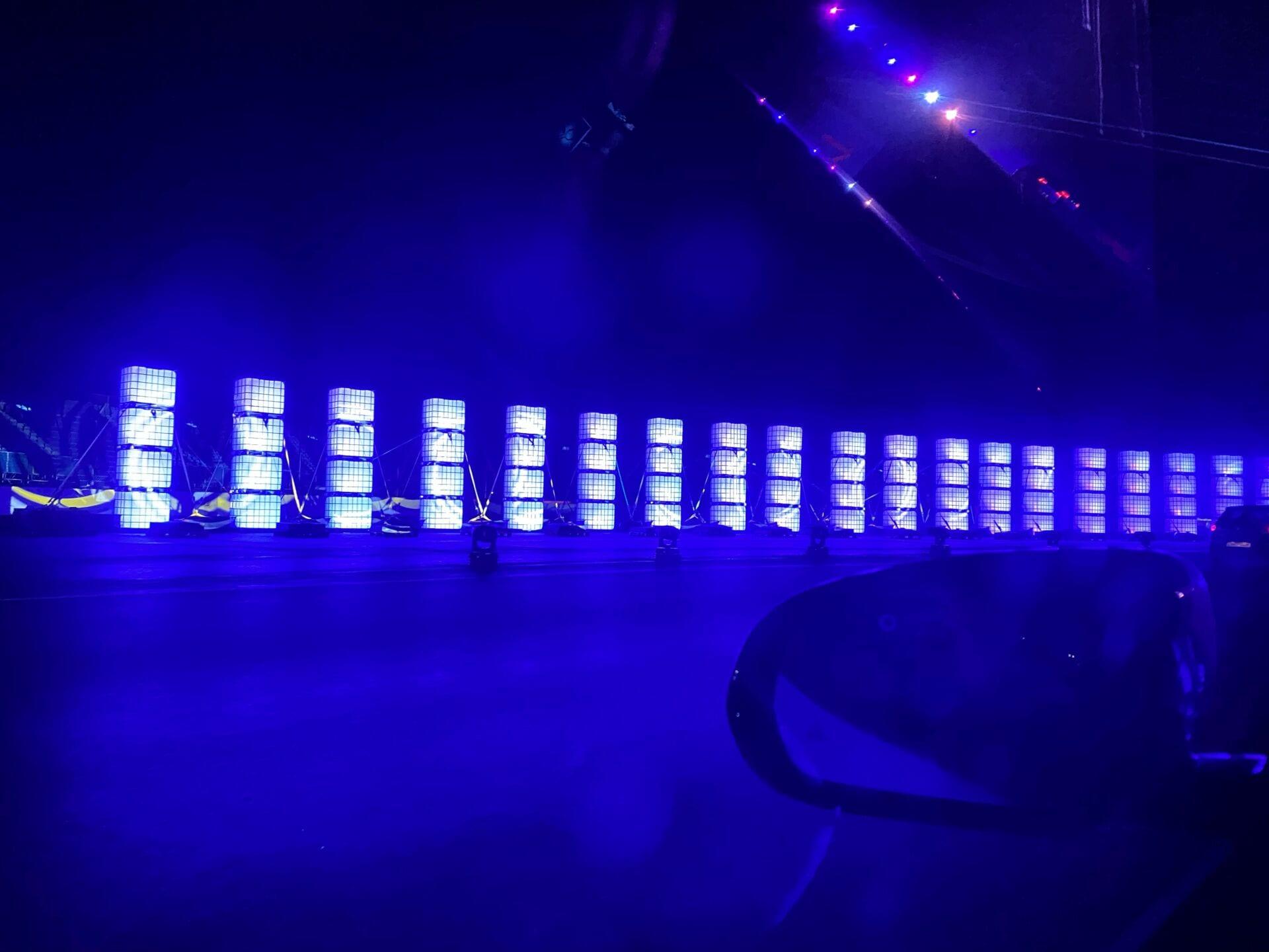 Lights at Stowe Corner Lapland Silverstone