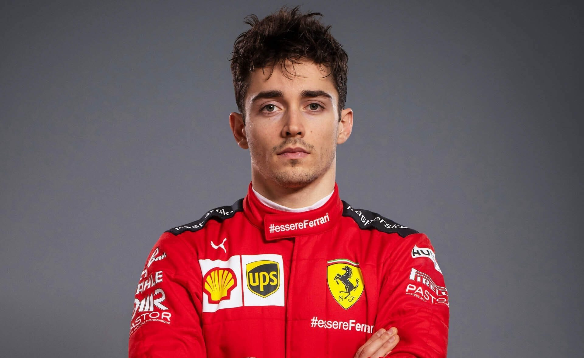 Charles Leclerc Top 10 F1 Drivers in 2020