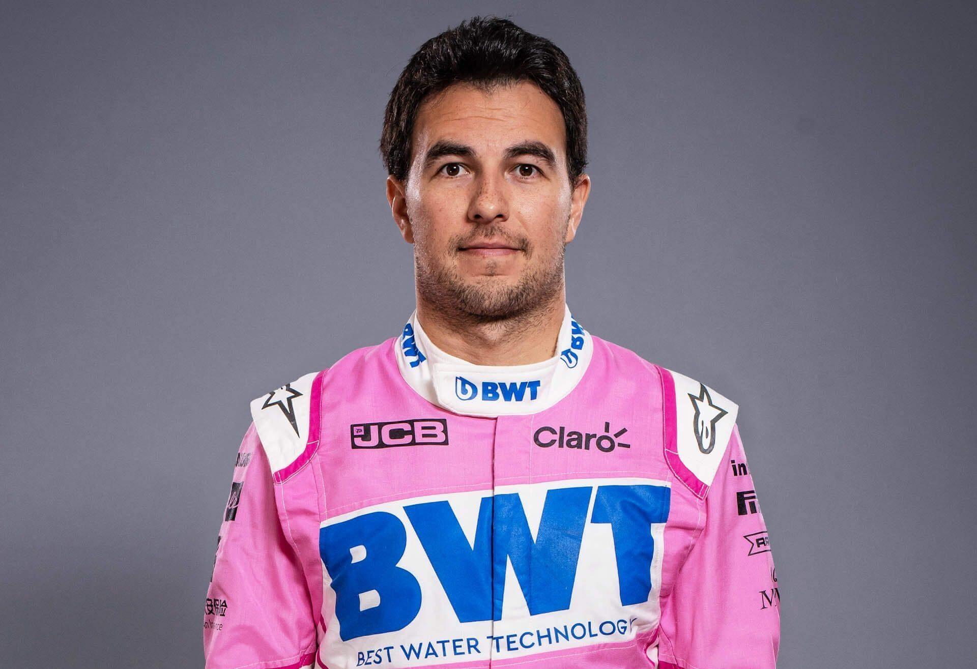 Sergio Perez Top 10 F1 Drivers in 2020