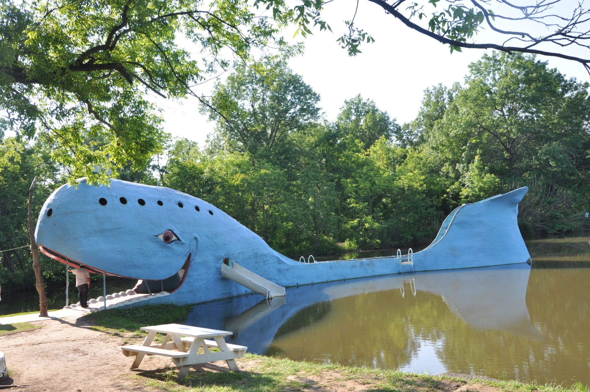 The Blue Whale Route 66 Oklahoma