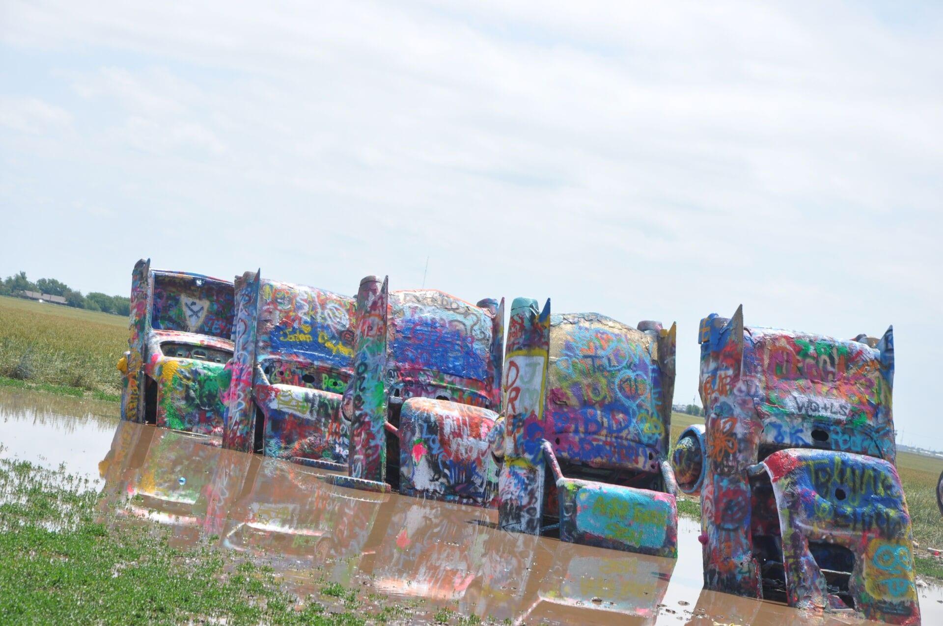 CADILLAC RANCH Route 66 Texas