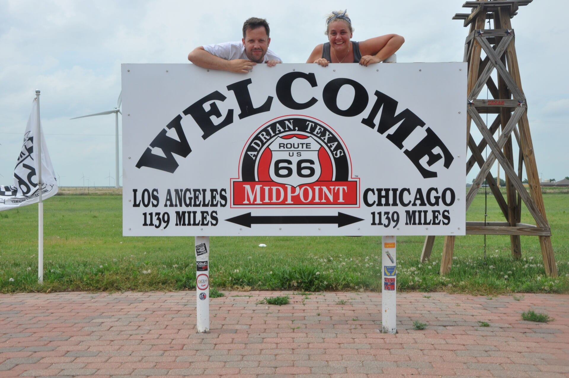 Midway Point Route 66 Texas