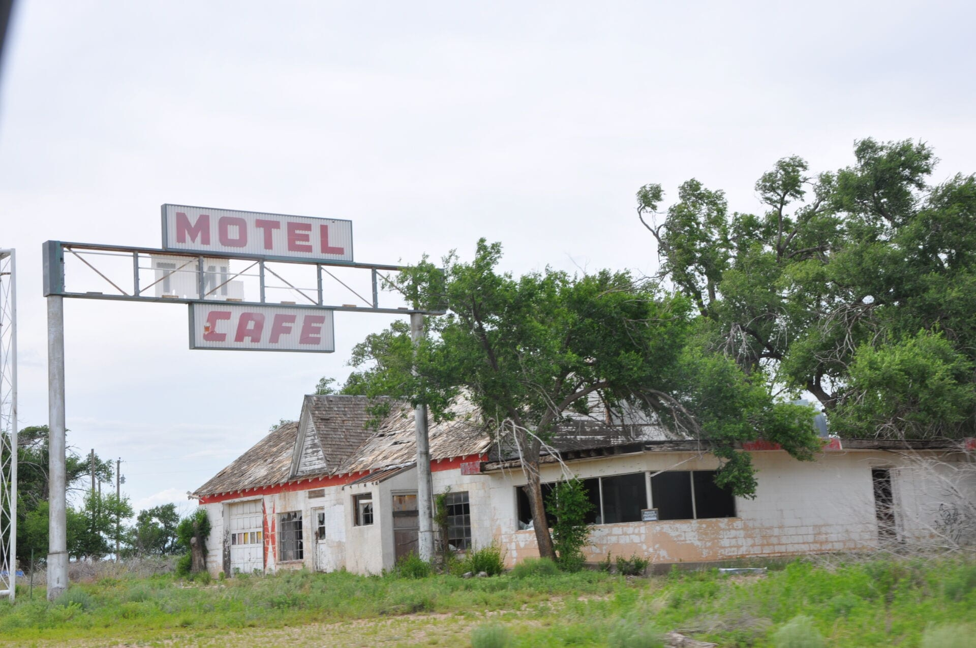 Derelict Town Route 66 Texas