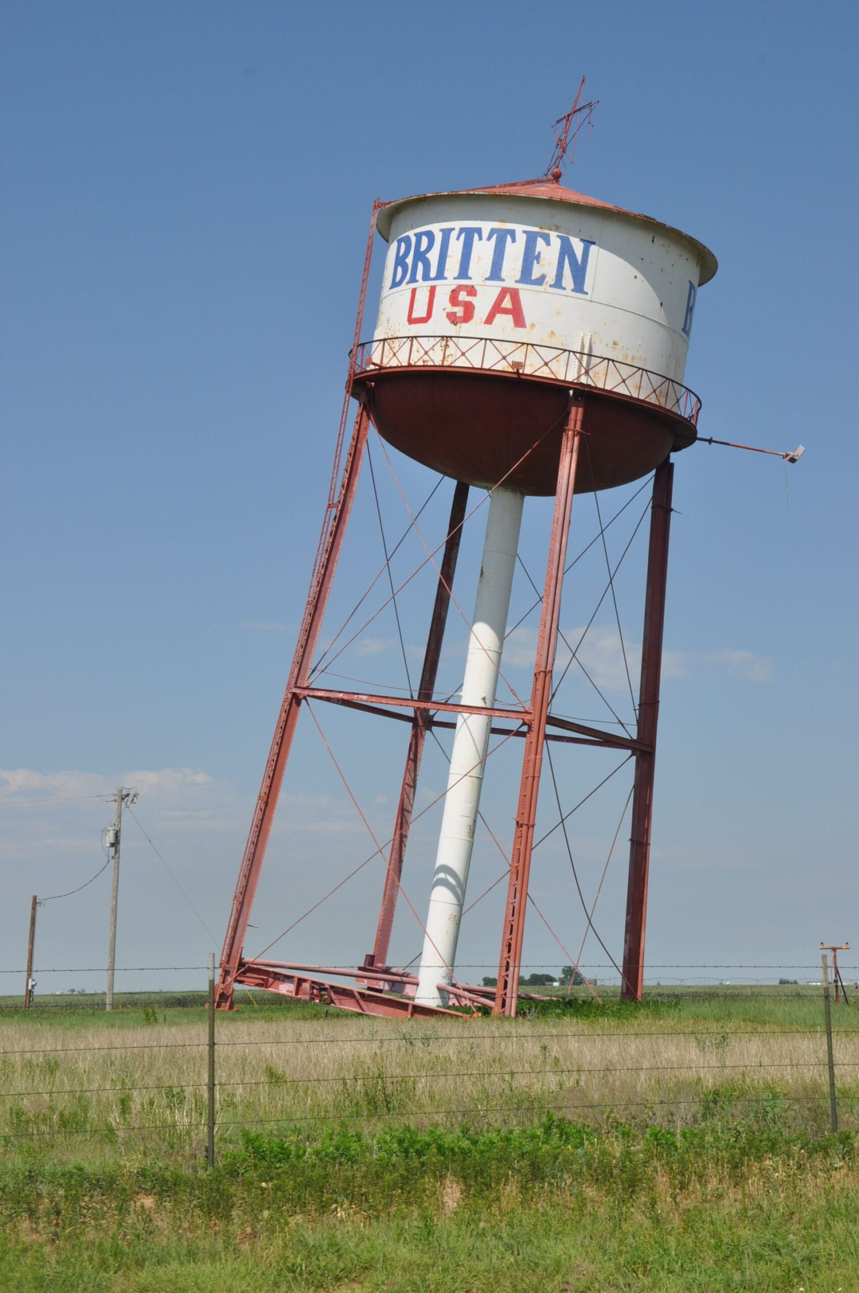 Water Tower Route 66 Texas