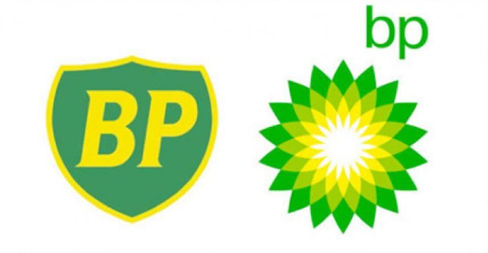 BP logo rebrand