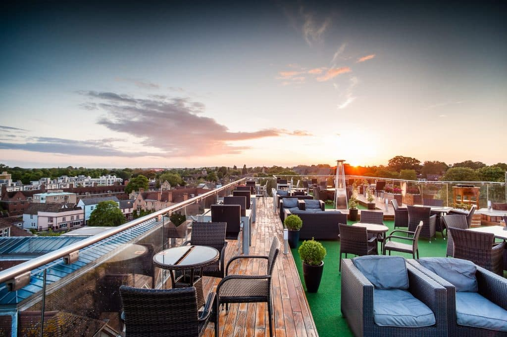 Varsity Roof Top Bar