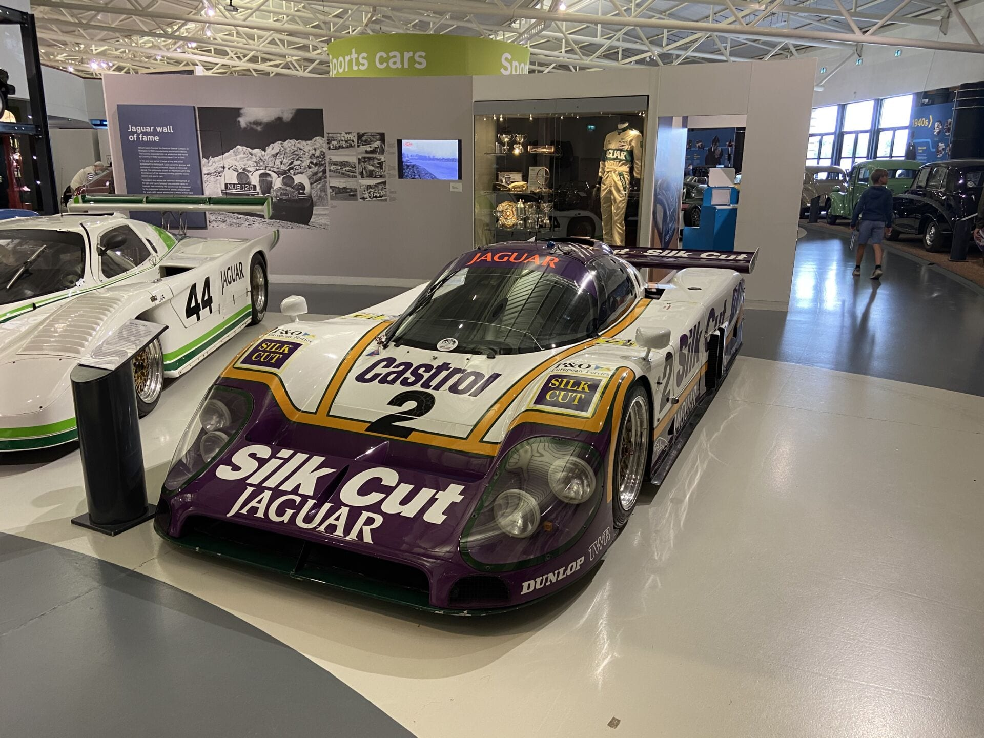 Jaguar Group C Car