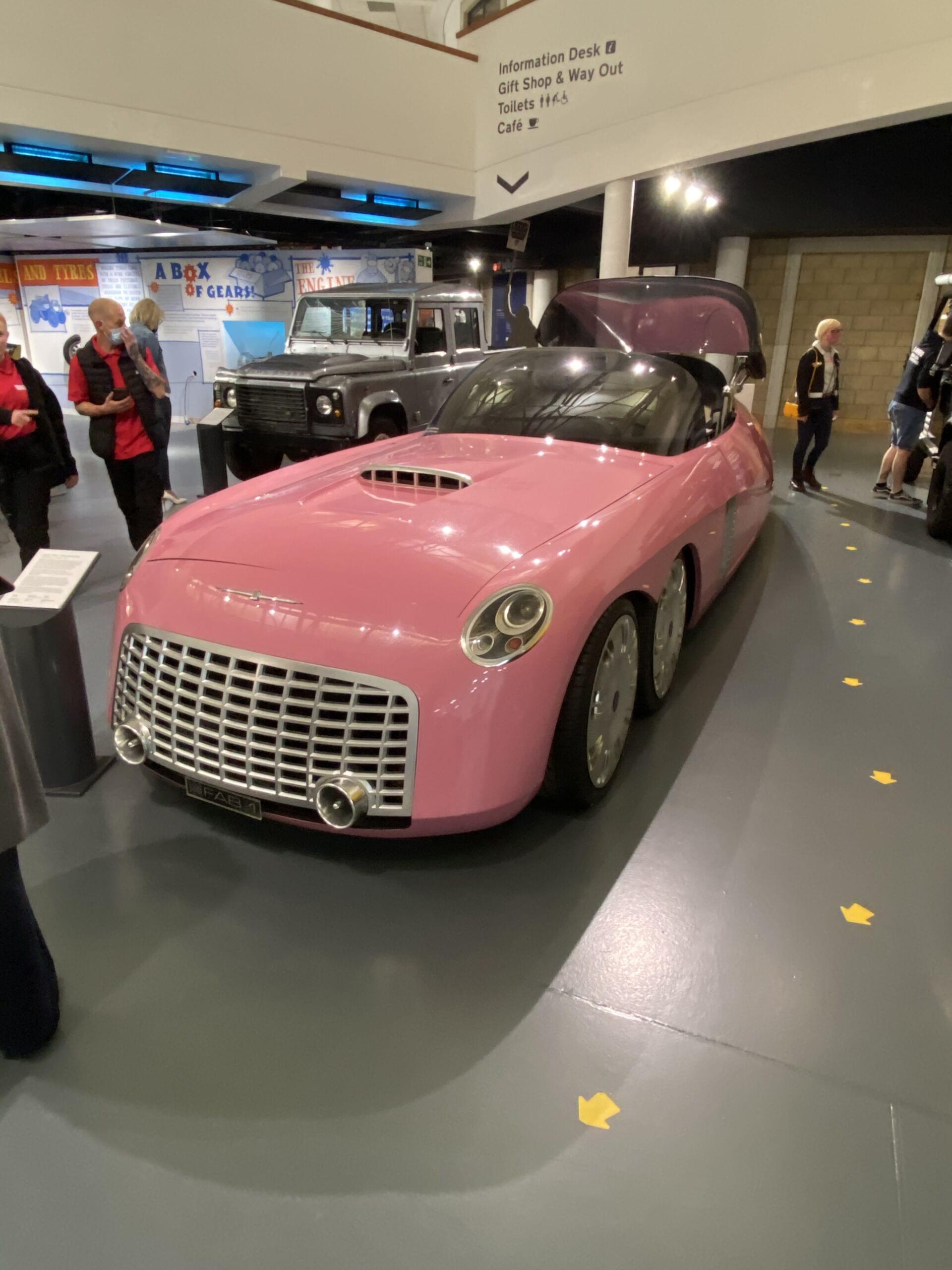 Thunderbirds Car