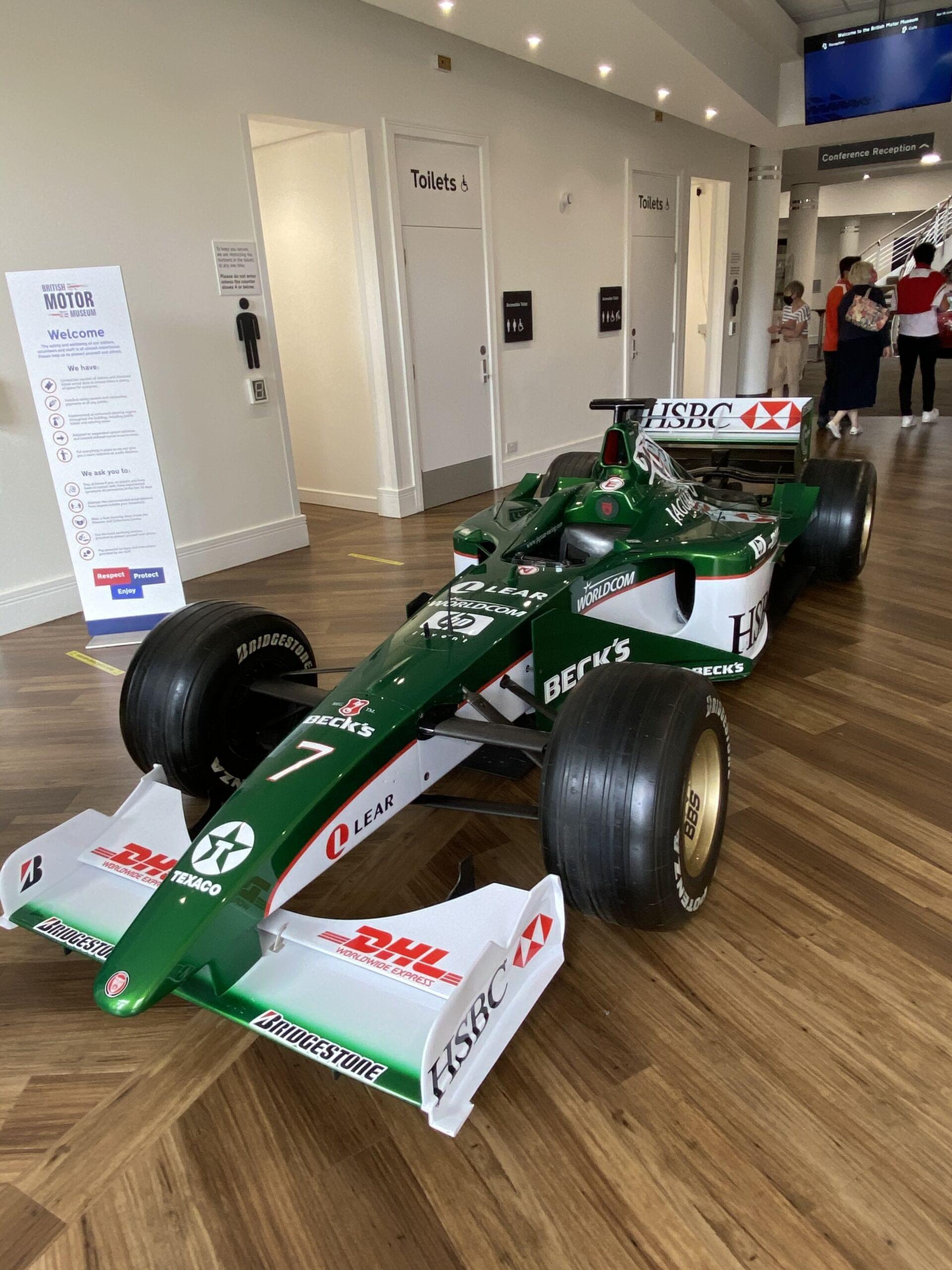 Jaguar F1 Car